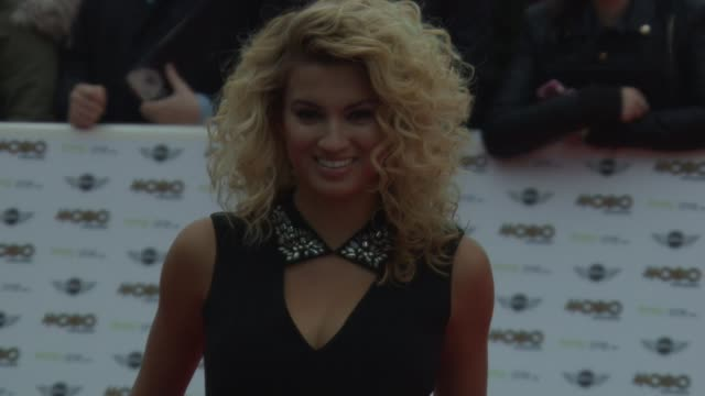 tori kelly at mobo awards 2014 at wembley arena on october 22, 2014 in london, england. - wembley arena stock videos & royalty-free footage