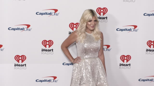 tori spelling at the 2019 iheartradio music festival - day 1 at t-mobile arena on september 20, 2019 in las vegas, nevada. - tori spelling stock videos & royalty-free footage