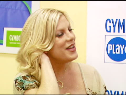 tori spelling at the first annual sweet feet parties and sock drive kick off on february 15, 2007. - tori spelling stock videos & royalty-free footage
