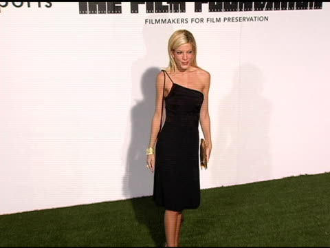 tori spelling at the opening of marc jacobs' three los angeles stores at 8400 melrose place in los angeles, california on march 17, 2005. - tori spelling stock videos & royalty-free footage