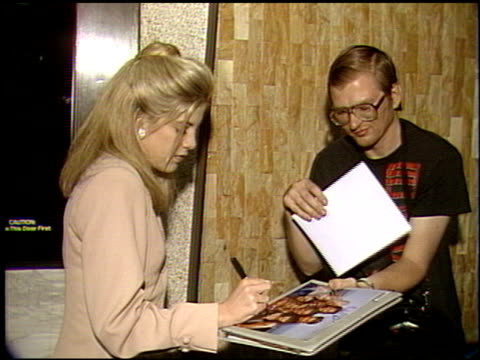 tori spelling at the tori spelling youth aids award at 6464 sunset building in los angeles, california on january 1, 1992. - tori spelling stock videos & royalty-free footage