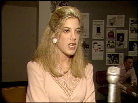 tori spelling youth aids award at the tori spelling youth aids award at 6464 sunset building in los angeles, california on january 1, 1992. - tori spelling stock videos & royalty-free footage