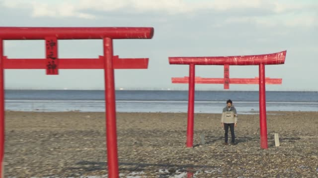 """""""Torii"""" is the entrance gate commonly found at Shinto Shrine where it symbolically marks the transition from the profane to sacred The unique thing..."""