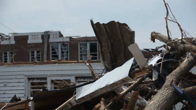 tornado damage in joplin missouri - blowhole stock videos & royalty-free footage