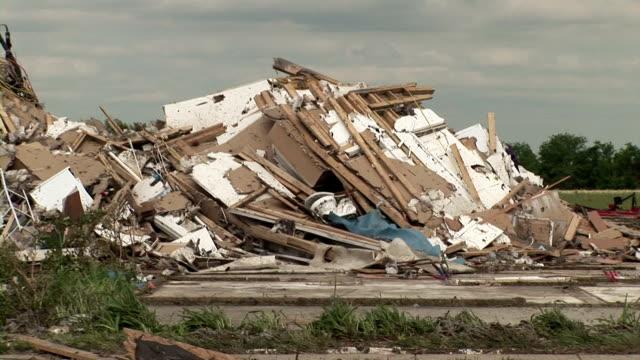 """Tornado damage, Texas"""