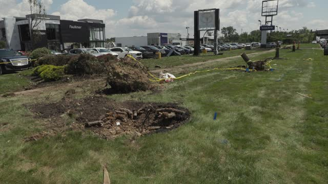 PA: Tornado slams Faulkner Buick GMC dealership in Trevose, Pennsylvania