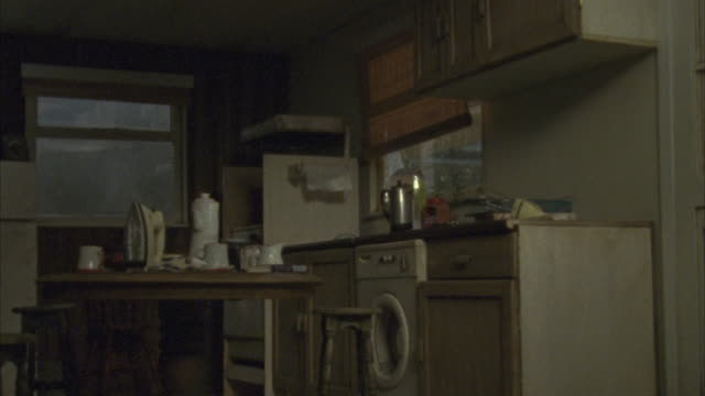 a tornado rips apart a home. - mystery video stock e b–roll
