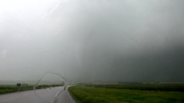 tornado taking down power lines - midwest usa stock videos & royalty-free footage
