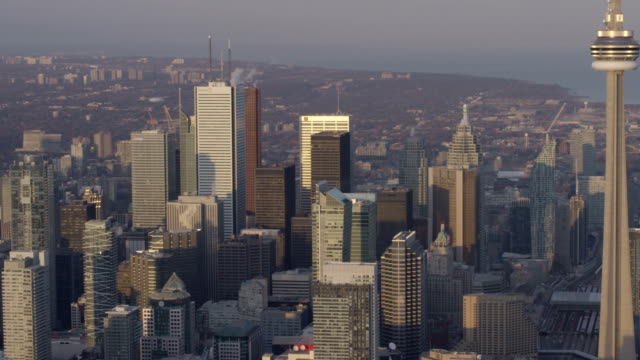 Toronto Canada antenne City-Skyline