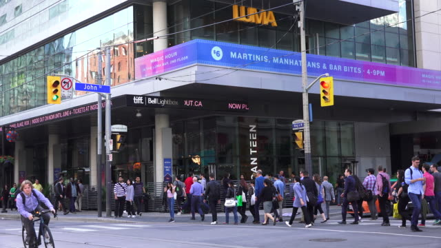Toronto, Canada: Atmosphere at the Bell Tiff Lightbox during the famousl film festival