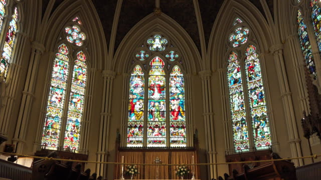 Toronto Canada: Indoors in the Saint James Cathedral Church