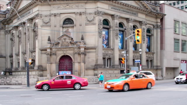 Toronto, Canada: Old facade of the Hockey Hall of fame in the downtown district of the capital city of the province of Ontario