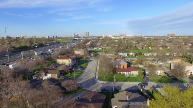 toronto, canada, terraview park at the beginning of spring - ontario canada stock videos & royalty-free footage
