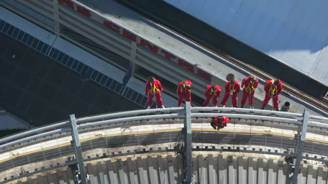 Toronto Canada: The EdgeWalk in the CN Tower. This is advertised as the city's most extreme adventure