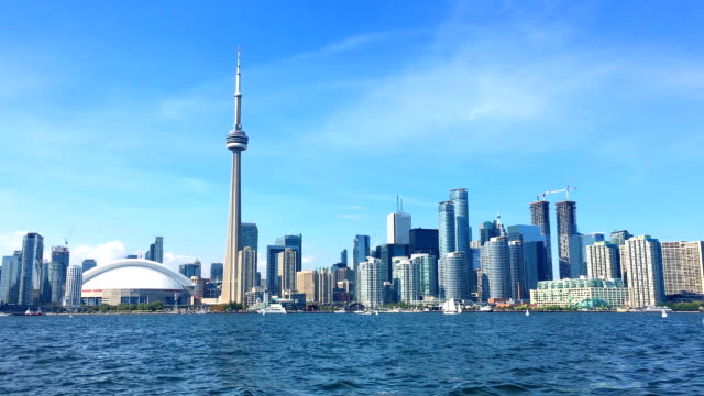 Toronto City Skyline in Canada during Daytime