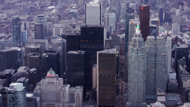toronto city skyline - toronto stock videos & royalty-free footage
