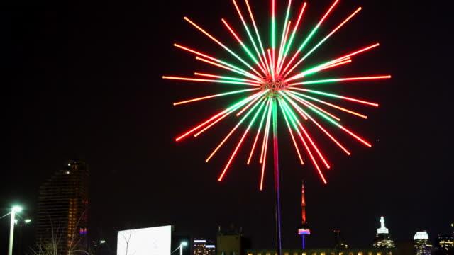 Toronto Lights Festival in the Historic Distillery District, Canada