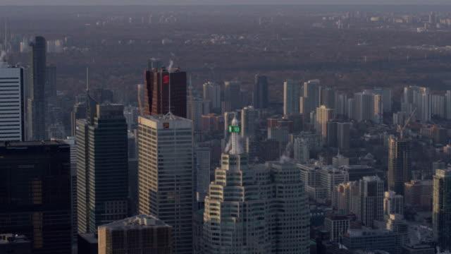 トロント、オンタリオ州、カナダ Aarial ヘリコプターからの眺め