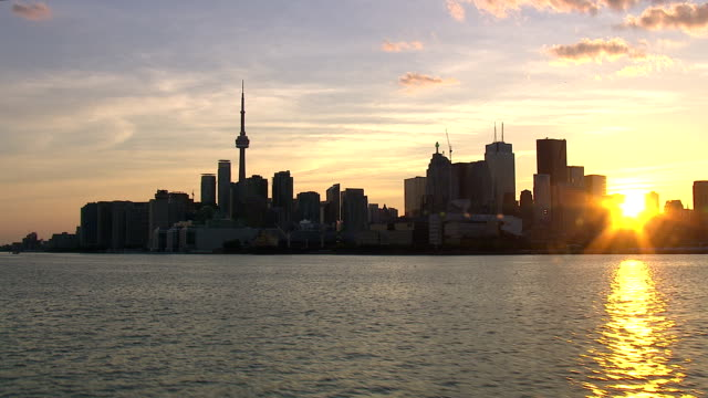 Toronto Ontario City Skyline
