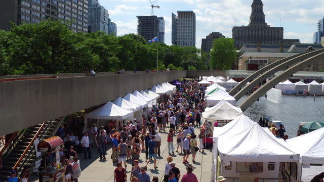 Toronto Outdoor Art Exhibition which is Canada's largest longest running juried contemporary outdoor art fair