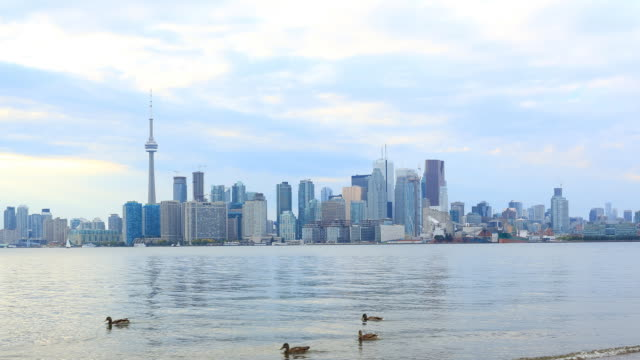 Toronto Skyline Time Lapse