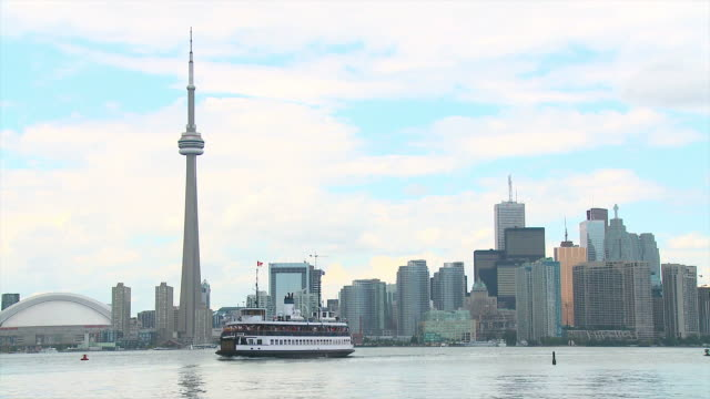 hd: toronto - ferry stock videos & royalty-free footage