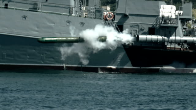 torpedo attack warship - torpedo stock videos & royalty-free footage