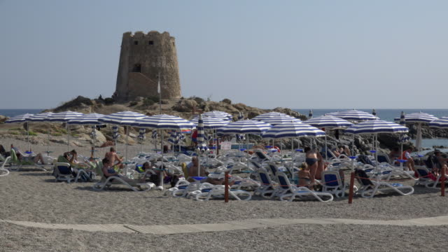 torre di bari tower at beach - spiaggia stock videos & royalty-free footage