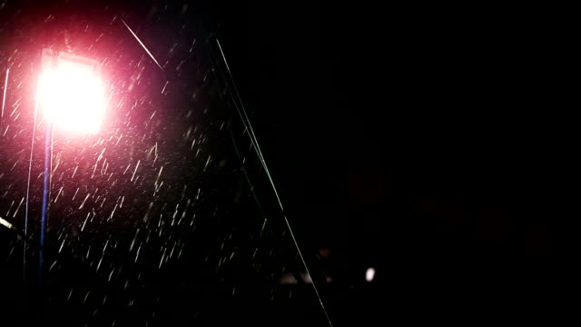 torrential rain at night - water form stock videos and b-roll footage