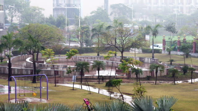 torrential rain - cambodia stock videos & royalty-free footage