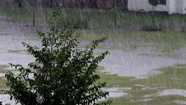 torrential rain! - village stock videos & royalty-free footage
