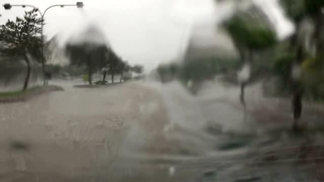 Sintflutartiger Regen