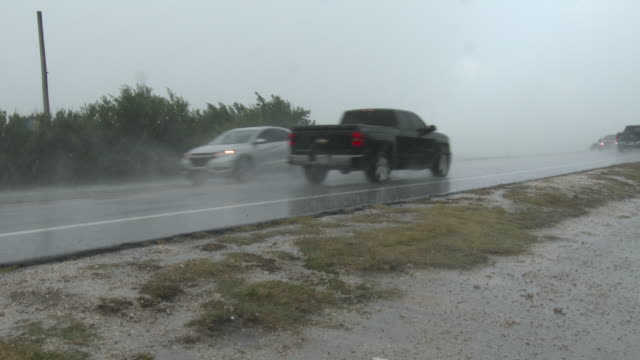 Torrential Rains Falling In The Florida Keys