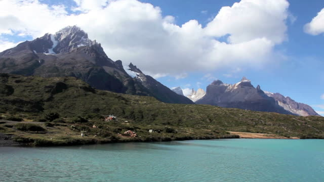 torres del paine national park in patagonia - chile stock videos and b-roll footage