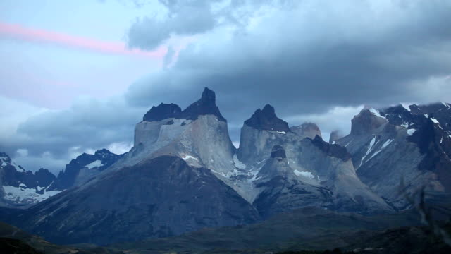 torres del paine national park - patagonia chile stock videos and b-roll footage