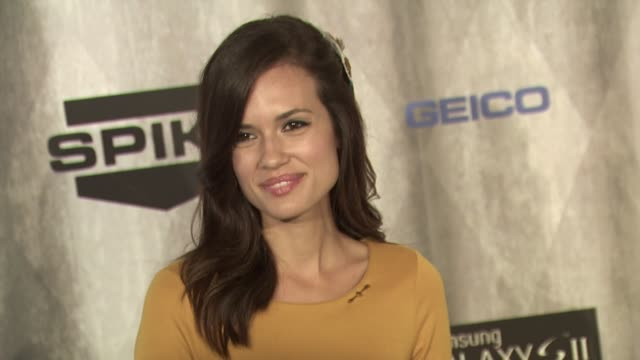 Torrey DeVitto at the Spike TV's 'Scream Awards at Universal City CA