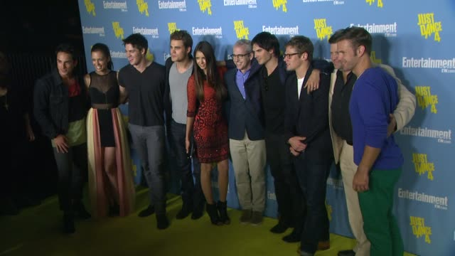 Torrey DeVitto Steven R McQueen Paul Wesley Nina Dobrev Ian Somerhalder Matthew Davis at Entertainment Weekly's 6th Annual ComicCon Celebration...