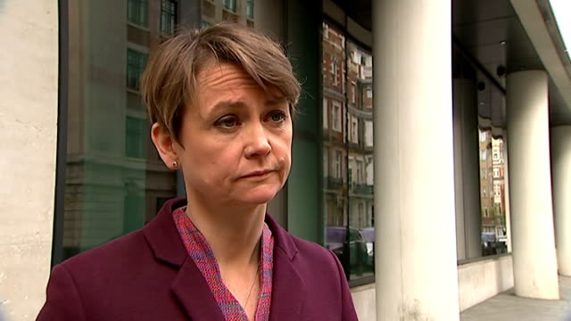 Yvette Cooper interview ENGLAND London EXT Yvette Cooper interview SOT on importance of getting to the truth on allegations of rendition