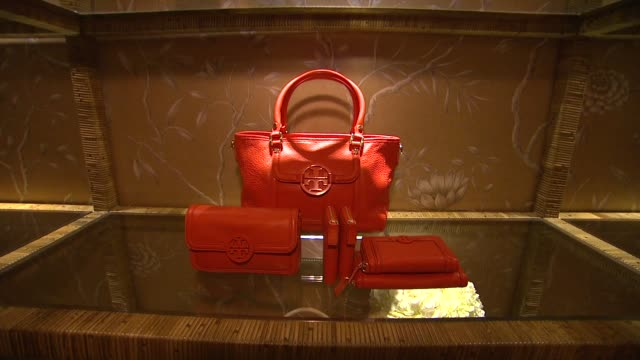 ATMOSPHERE Tory Burch Rodeo Drive Flagship Opening at Tory Burch on in Beverly Hills California