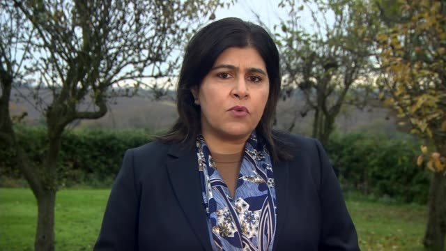 baroness warsi interview england baroness warsi 2way interview sot - cathy newman stock videos & royalty-free footage