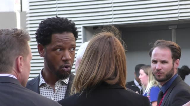Tory Kittles arrives at the premiere of Avengers Infinity War in Hollywood in Celebrity Sightings in Los Angeles