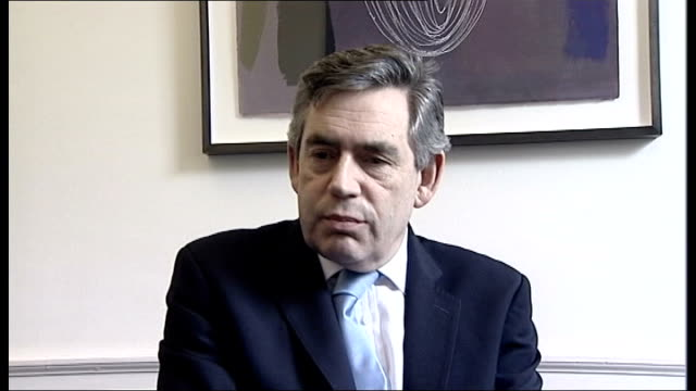 tory mp quentin davies defects to labour party int gordon brown mp interview sot welcome davies to labour party / new labour party i lead will reach... - persuasion stock videos and b-roll footage