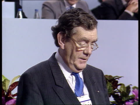 Tory Party Conference 1989 POLL TCMS Peter Skolar Holborn St Pancras speech attacks the Poll Tax 'Safety Net' arrangements SOF authorities like...