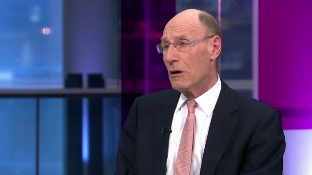 Toshiba considers selling its majority stake in US nuclear division Westinghouse ENGLAND London GIR INT Sir John Armitt LIVE STUDIO interview SOT