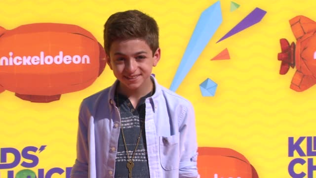 jj totah at nickelodeon's 28th annual kids' choice awards at the forum on march 28 2015 in inglewood california - nickelodeon stock videos & royalty-free footage