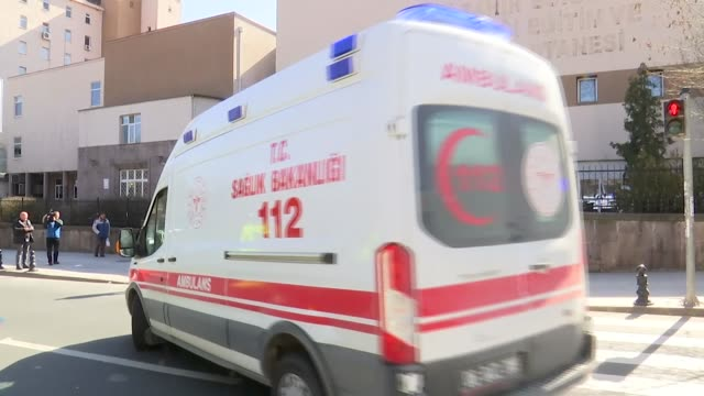 total of 132 turkish citizens, who landed in the capital ankara from iran on tuesday, have been brought to zekai tahir burak hospital where they will... - singapore stock videos & royalty-free footage