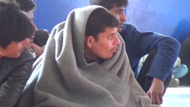 a total of 145 undocumented migrants were held in mugla province of turkey on april 09 2018 among them were 141 pakistanis a bangladeshi a nepalese... - mugla province stock videos and b-roll footage