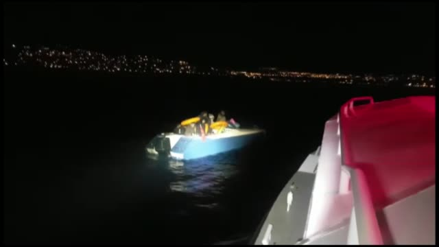 a total of 20 irregular migrants were held in mugla province of western turkey on november 23 2018 - mugla province stock videos and b-roll footage