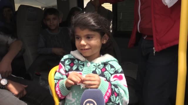 a total of 70 syrian refugees return to syria under the voluntary return program on may 10 2018 in kilis turkey syrian ayse hayyani suzan hamo and... - family with four children stock videos & royalty-free footage