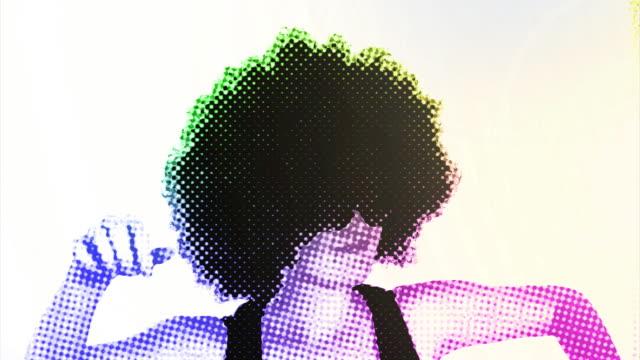 完全 80 の少女ダンス - 1980~1989年点の映像素材/bロール